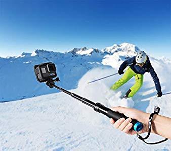 coolway wasserdicht selfie stick f r gopro und action cam gute qualit t. Black Bedroom Furniture Sets. Home Design Ideas